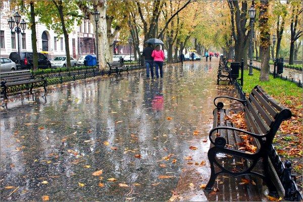 В Москву идет мокрая осень