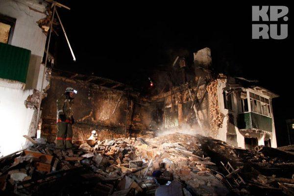 в Башкирии взорвался бытовой газ