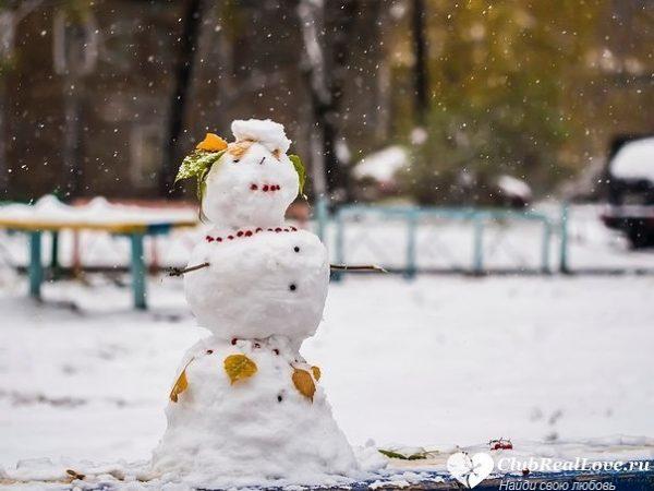 В Москве через три дня выпадет первый снег