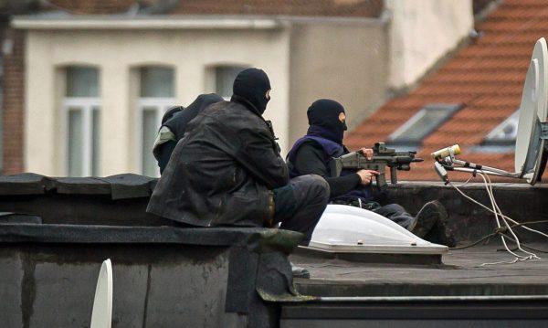 стрельба в Брюсселе
