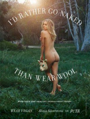 «Лучше голой, чем в мехах». Звезды разделись в защиту животных