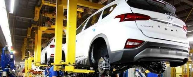 В России запустили производство авто Hyundai Santa Fe