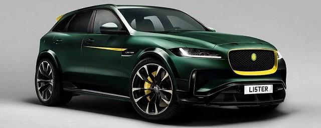 Компания Lister анонсировала кроссовер на базе Jaguar F-Pace
