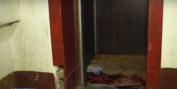 убийство в лифте