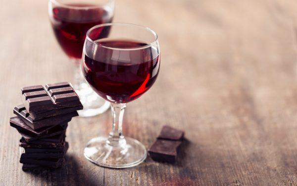 шоколад и алкоголь